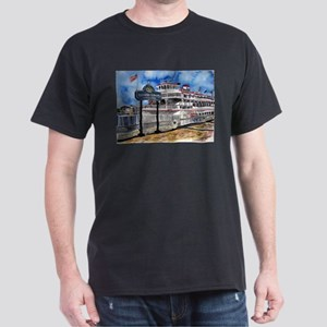 savannah queen river boat Geo Dark T-Shirt