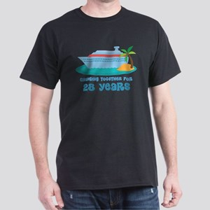 28th Anniversary Cruise Dark T-Shirt