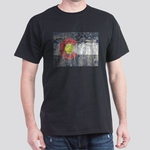 colorado flag paint chips T-Shirt