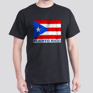 Flag of Puerto Rico Ash Grey T-Shirt