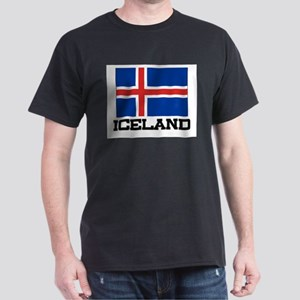 Iceland Flag Dark T-Shirt
