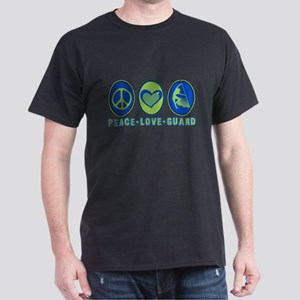 PEACE - LOVE - GUARD Dark T-Shirt