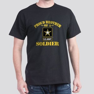Proud Brother U.S. Army Dark T-Shirt