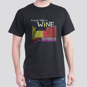 Periodic Table of Wine Dark T-Shirt