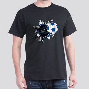 Soccer Ball Burst Dark T-Shirt