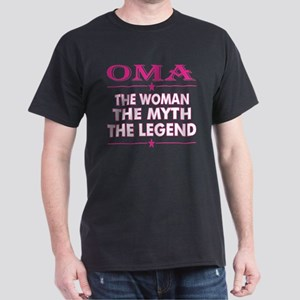 Oma The Woman The Myth The Legend T-Shirt