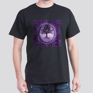 Tree of Life in Purple T-Shirt