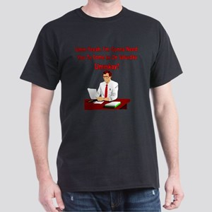 Office Space - Come In On Saturday Dark T-Shirt