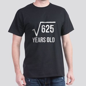 25 Years Old Square Root T-Shirt