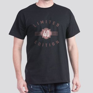 40th Birthday Limited Edition Dark T-Shirt