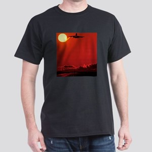 Boeing 747 taking off at sunset Light T-Shirt