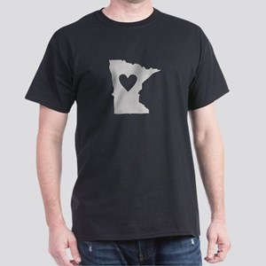 Heart Minnesota Dark T-Shirt