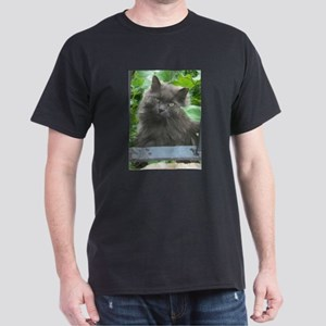 Long Haired Russian Blue Cat T-Shirt