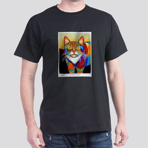 Cat-of-Many-Colors Dark T-Shirt