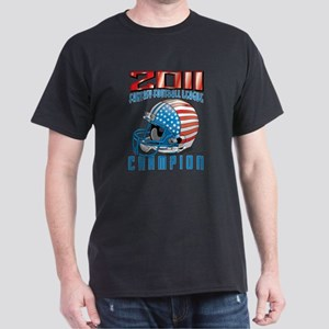 2011 FFL Champion Helmet Dark T-Shirt