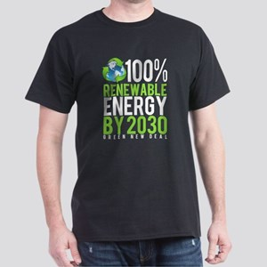 Green New Deal 100% Renewable Energy By 20 T-Shirt