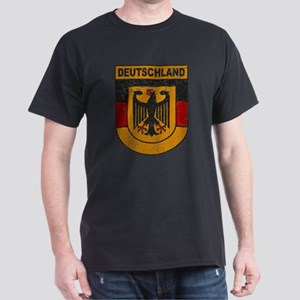 Deutschland (Germany) Shield Dark T-Shirt
