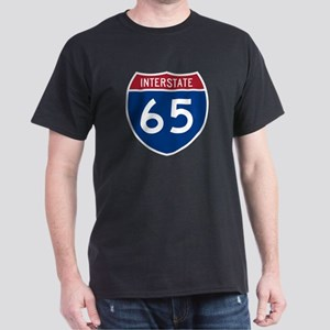 I-65 Highway Black T-Shirt