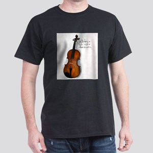 The Glorious Viola Black T-Shirt