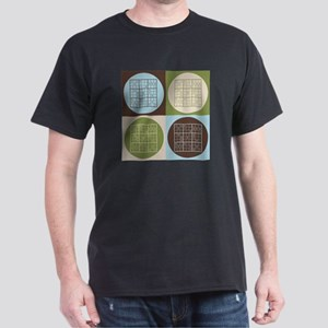 Sudoku Pop Art Dark T-Shirt