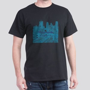 Minneapolis_10X10_v1_Downtown_Blue Dark T-Shirt