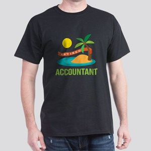 Retired Accountant Dark T-Shirt
