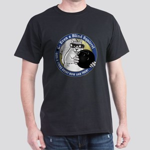 Bowling Blind Squirrel Dark T-Shirt