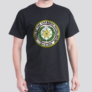 Great Seal of the Cherokee Nation White T-Shirt