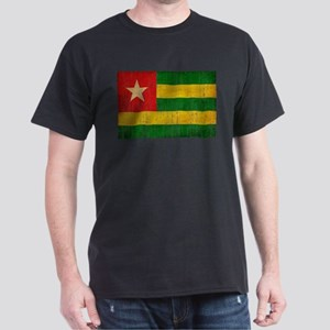 Togo Flag Dark T-Shirt