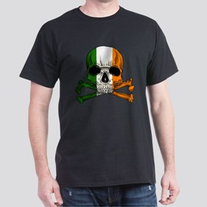 Irish Skull n' Crossbones Dark T-Shirt