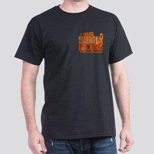 I Wear Orange 6.4 Leukemia Dark T-Shirt