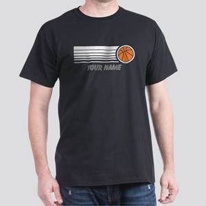 5a2d7cbbbfd Basketball Personalized Dark T-Shirt
