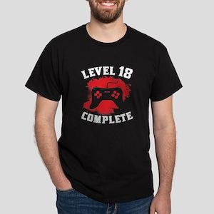 cdf2ccf28 Level 18 Complete 18th Birthday T-Shirt