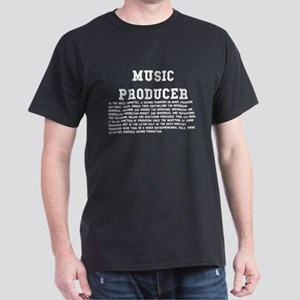 Music Producer Dark T-Shirt