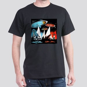 "Flying Saucer ""A"" Dark T-Shirt"