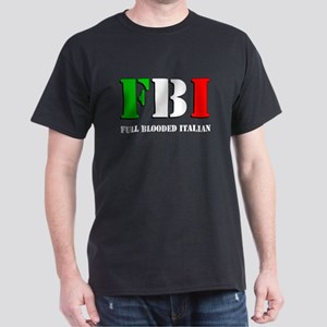 FBI Italian Shirt Dark T-Shirt