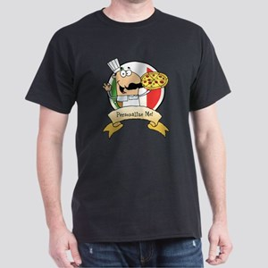 Italian Pizza Chef Dark T-Shirt