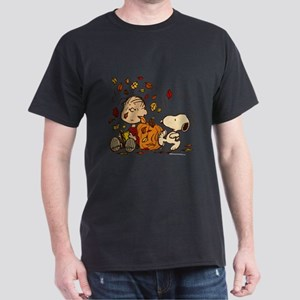 562f94b2 Fall Peanuts Dark T-Shirt