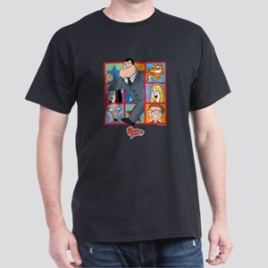American Dad Frames Dark T-Shirt