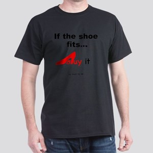 SHOES Buy- red Dark T-Shirt