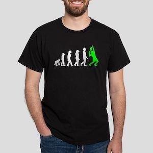 7d0fe155 Tennis Evolution (Green) T-Shirt