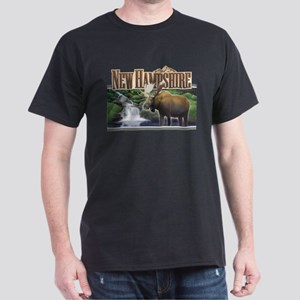 New Hampshire Moose Dark T-Shirt
