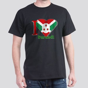 I love Burundi Dark T-Shirt