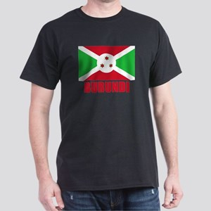 Burundi Flag Dark T-Shirt