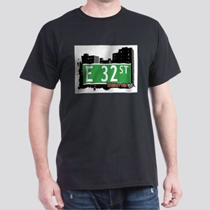 E 32 STREET, MANHATTAN, NYC Dark T-Shirt