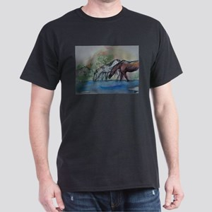 Horses, beautiful, Dark T-Shirt