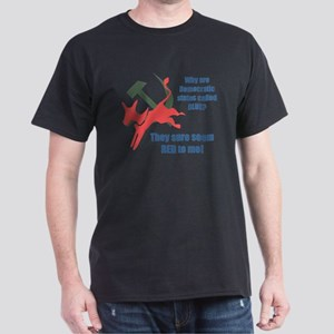 """Red Democrats""  Dark T-Shirt"