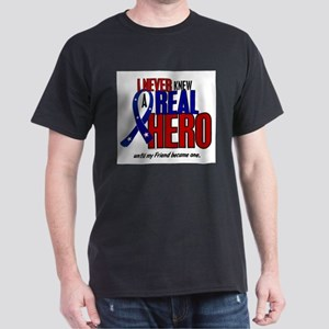 Never Knew A Hero 2 Military (Friend) T-Shirt
