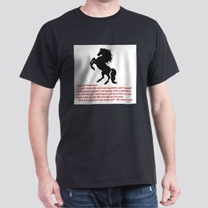 I am a horsewoman ... I can ... T-Shirt
