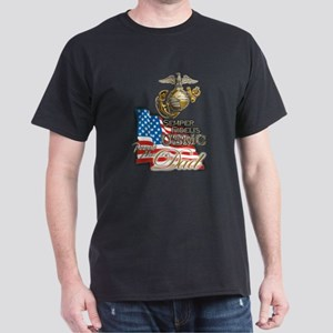 USMC Marine Dad - T-Shirt